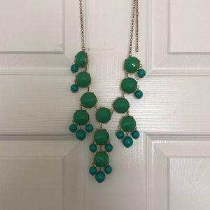 ✨Blue & Green Statement Necklace ✨